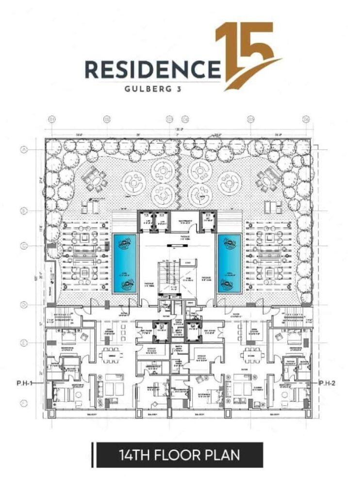 14th-floor-plan-map-Residence-15
