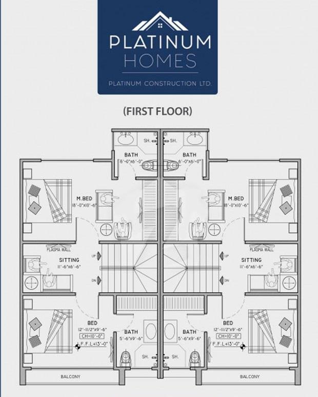 First-Floor-plan-Platinum-Homes-Lahore