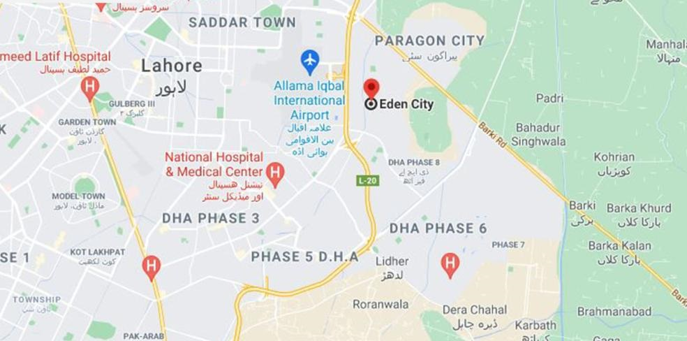 Location-Eden-City-Lahore