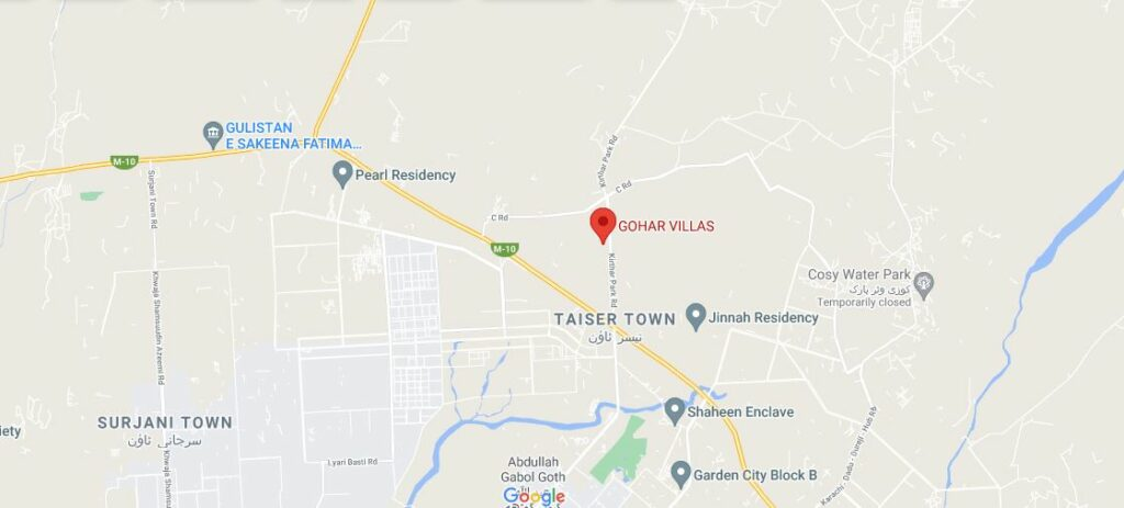 Location-Gohar-Villas-Karachi
