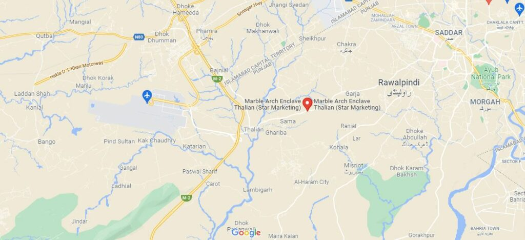 Location-MARBLE-ARCH-ENCLAVE-Islamabad