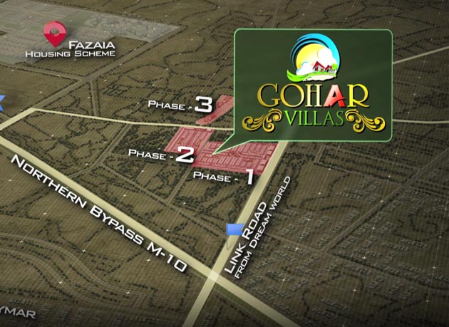 Location-Map-Gohar-Villas-Karachi
