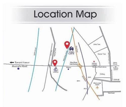 Location-Map-Model-City-Housing-Scheme-lahore