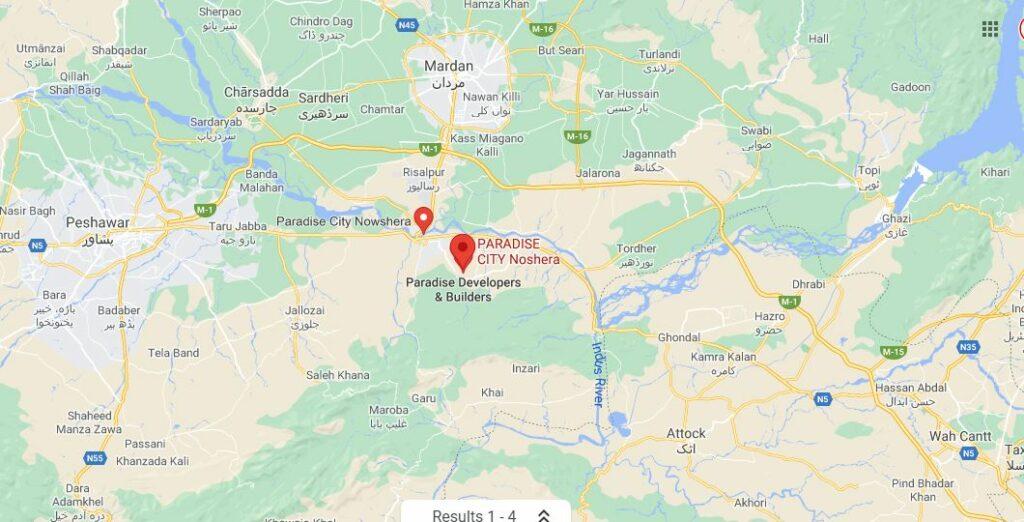 Location-Map-Paradise-City-Nowshera