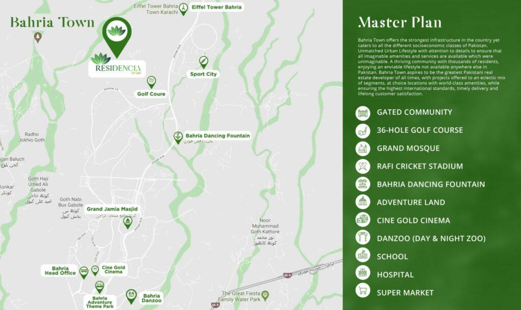 Location-Map-RESIDENCIA-by-ARY-Bahria-Town-Karachi