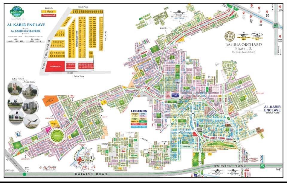 Master-Plan-Al-Kabir-Enclave-Bahria-Orchard-Lahore