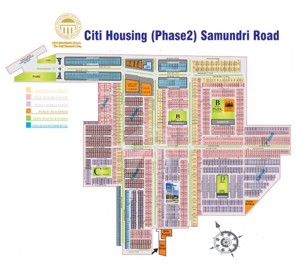 Master-Plan-Citi-Housing-Phase-2-Faisalabad