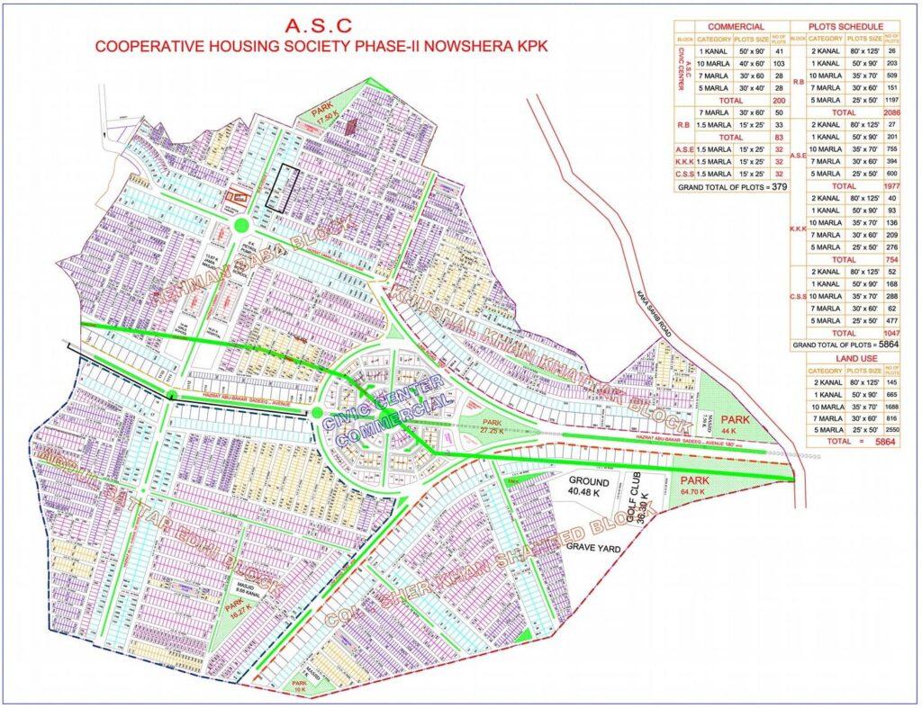 Master-Plan-Location-ASC-Colony-Phase-2-Nowshera