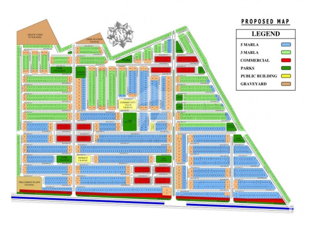Master-Plan-Model-City-Housing-Scheme
