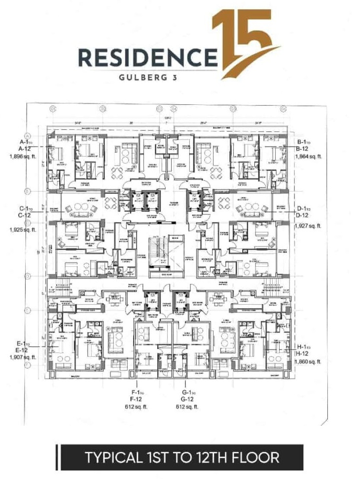 typical-1-to-12-floor-plan-map-Residence-15